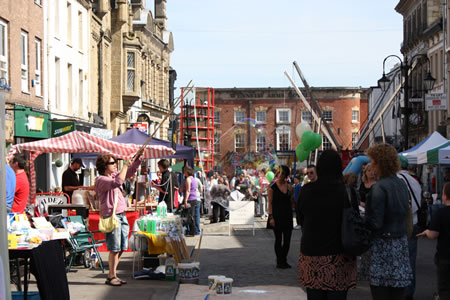 Market Stalls and Games