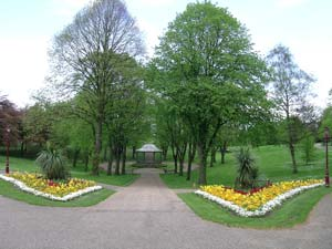 Bellevue Park in Wrexham which is set to play host to Communities First's Junior Golf Festival