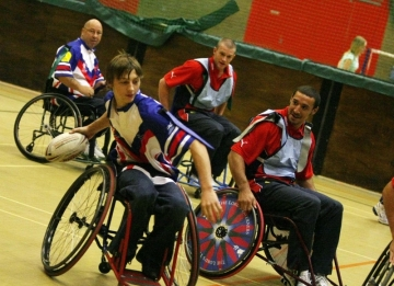 Wheelchair Rugby League taster sessions will take place at Glyndwr Univerity's Sports Hall next Wednesday.