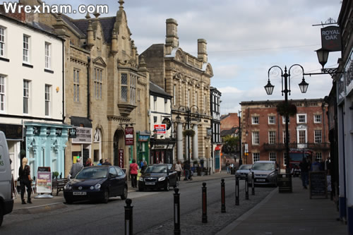 high street wrexham wynnstay