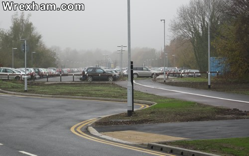 hospital car park from morrisons