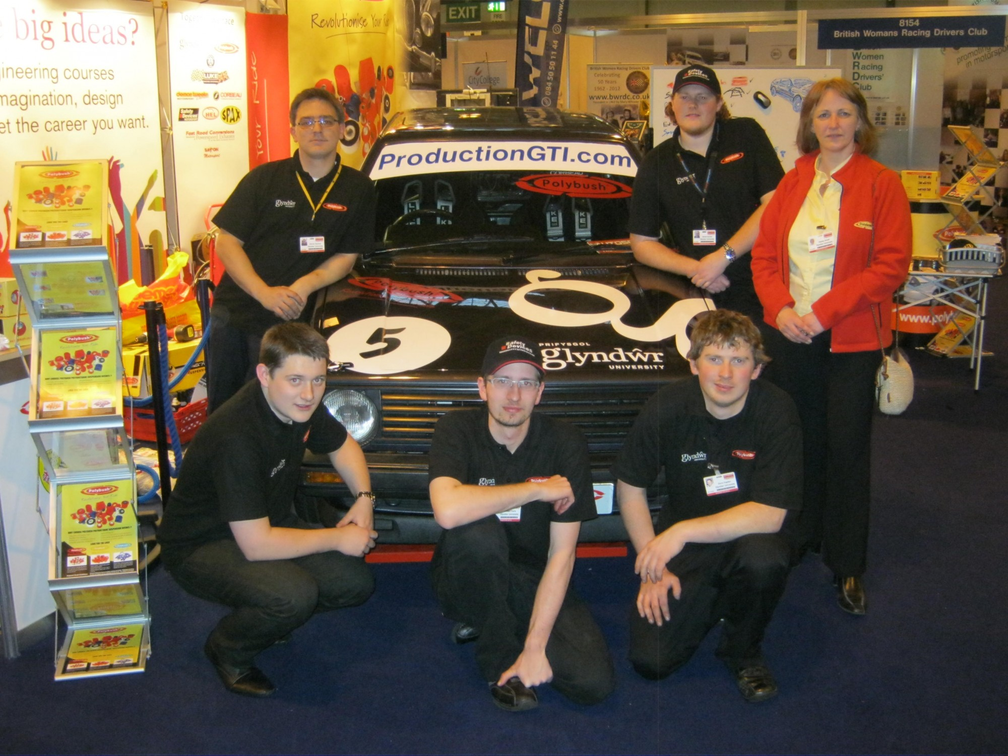 Autosport 2012 Polybush and Glyndwr working together we can race