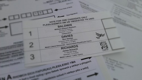 wrexham-postal-vote
