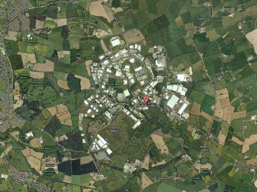 Wrexham Industrial Estate Map