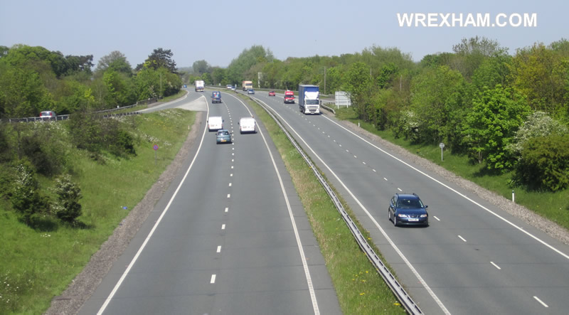 a483-rossett-northbound