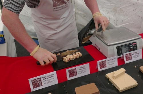 wrexham food festival fudge 500x330 Wrexham Food Festival 2012