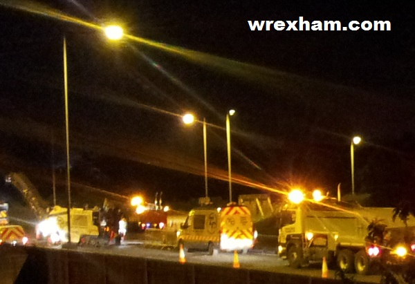 Link Road Wrexham Roadworks