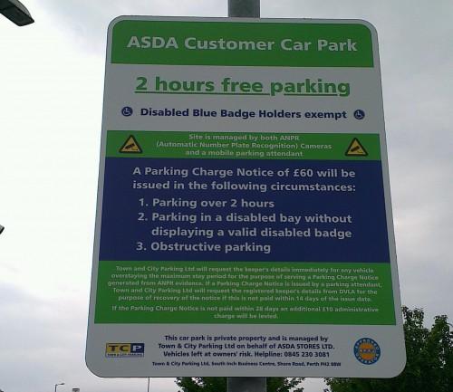 Asda Car Parking