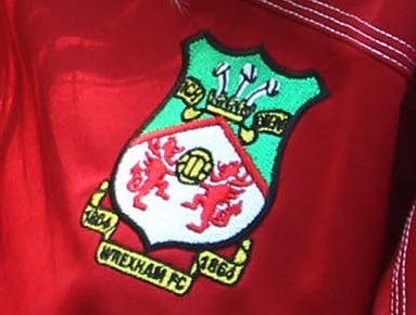 Wrexham New shirt and shorts sponsored by Wrexham Lager