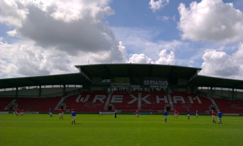 wrexham fc open day match 500x302 Wrexham FC Open Day Pictures