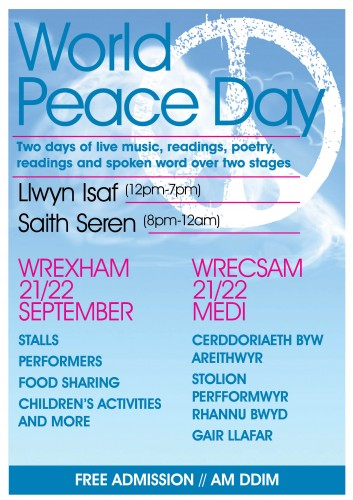 World Peace Day 353x500 World Peace Day Festival Coming to Town
