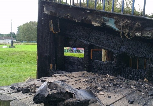caia arson cctv 500x347 Arson Strikes Caia Again   Three Times Overnight