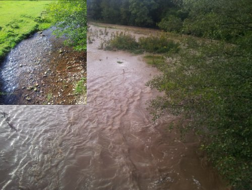 eslessfarm rhostyllen after Bad Weather and Floods Hit Wrexham Area   Special Report
