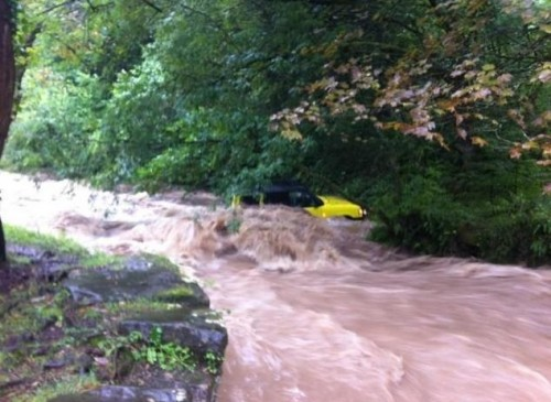 nant mill 2 500x365 Bad Weather and Floods Hit Wrexham Area   Special Report