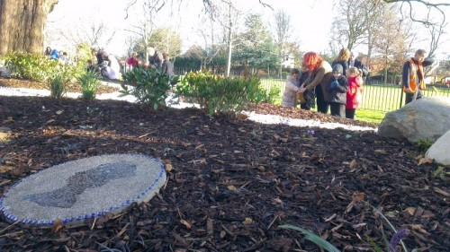 jub garden mosaic 500x281 New Jubilee Garden Officially Open