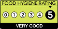 five star food rating Wrexham Council Food Hygiene Scores   The Best
