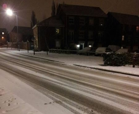 Croesnewydd snow Friday: Wrexham Snow   Live Updates And Information