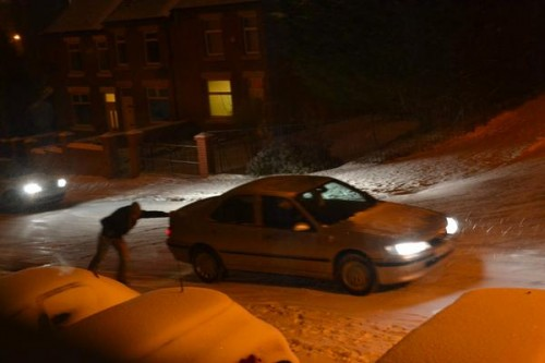 benj road 500x333 Friday: Wrexham Snow   Live Updates And Information