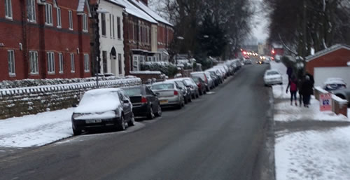 ruthin road Friday: Wrexham Snow   Live Updates And Information