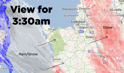 snow prediction 0330 Friday: Wrexham Snow   Live Updates And Information