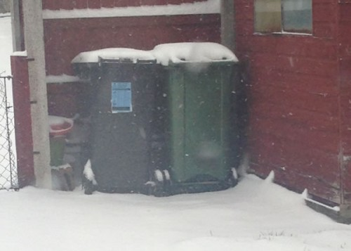 southsea bins 500x357 Friday: Wrexham Snow   Live Updates And Information
