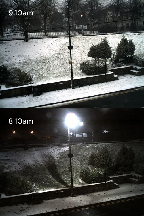 town centre cam Friday: Wrexham Snow   Live Updates And Information