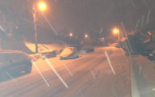 wxmrdbrynteg 500x312 Friday: Wrexham Snow   Live Updates And Information