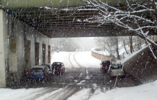 5 of the abandoned cars in Bersham