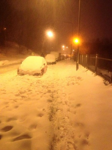 BF hlekCMAAg0fA 375x500 Wrexham Snow Updates   Friday 22nd March