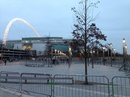 Wembley Golden Arch