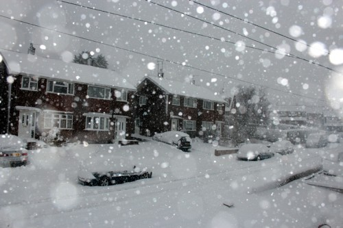 summerhill in snow