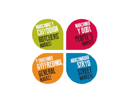 The new market logos that have been launched as part of the market's reinvigoration