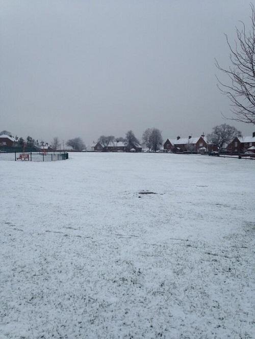 garden village snow