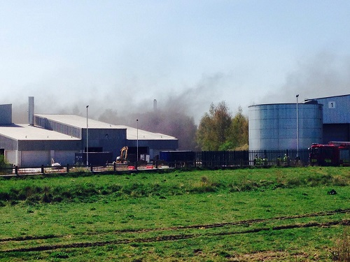 Industrial Estate Fire 1