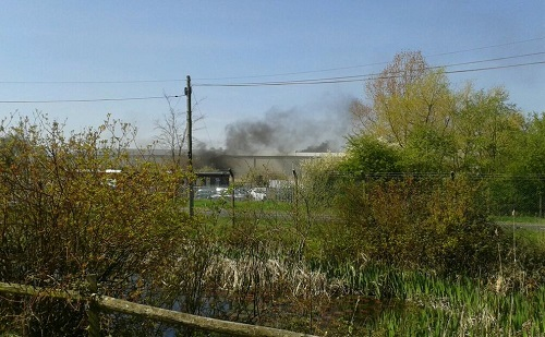 Industrial Estate Fire