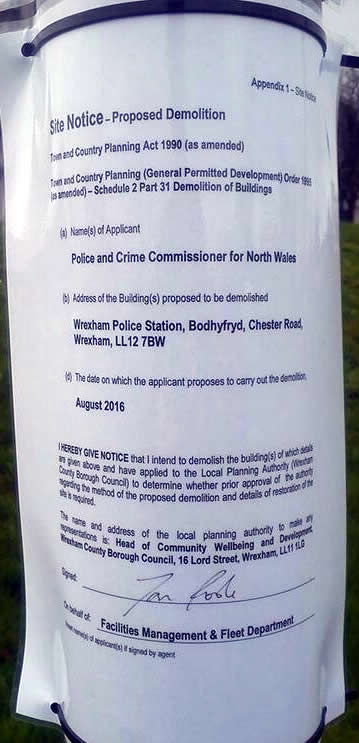 police-station-demolision-notice