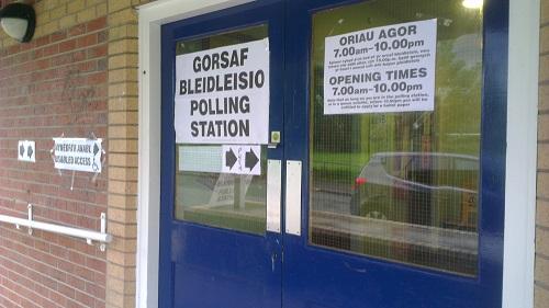 Maesgwyn-Elections