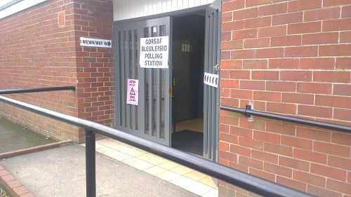 Bradley-Polling-Station