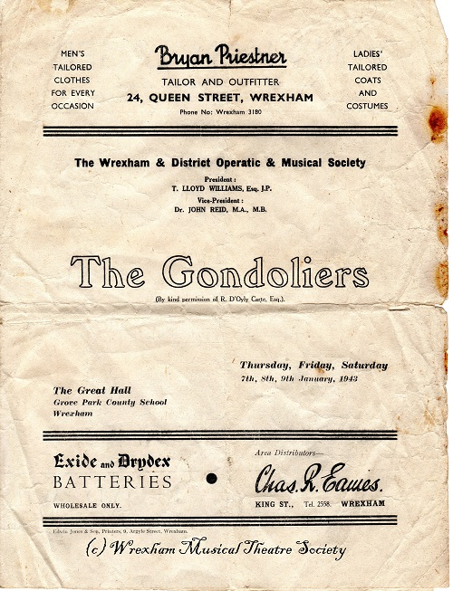 1943 The Gondoliers 3
