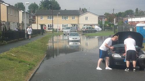 Caia Park Flooding