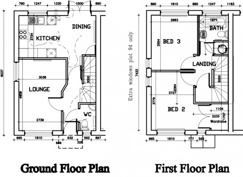 Council house plans House design plans – Council House Floor Plans