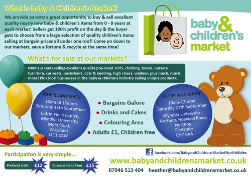 982e2a32f Baby and Children's Market Nearly New Sale - Wrexham.com