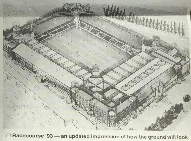 wrexhamdotcom-racecourse-november-1991-plans