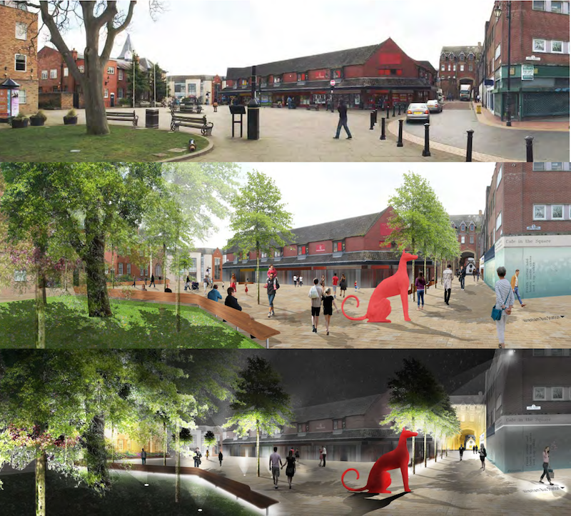 Queens Square Masterplan