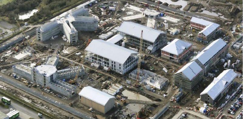 Hmp Berwyn Build Progress Update Wrexham Com