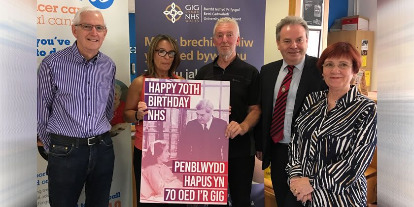 Birthday Card Delivered To Hospital As People Of Wrexham Say A Big Thank You NHS