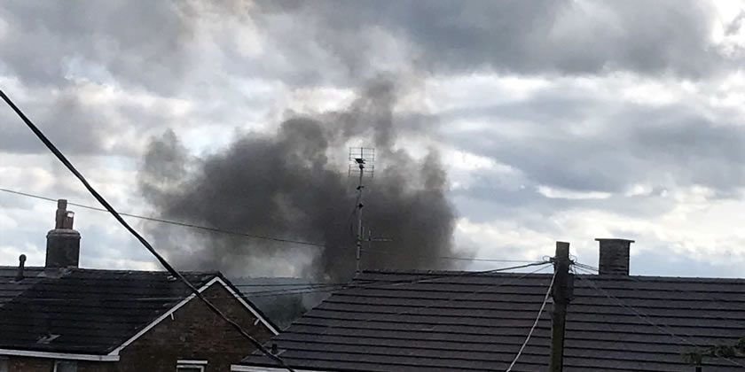 Fire crews attend incident in New Broughton