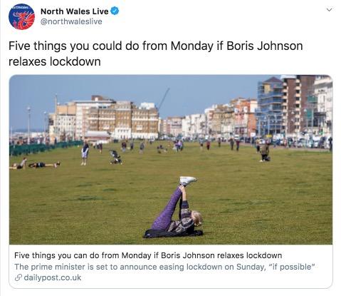 Wales announces modest lockdown changes