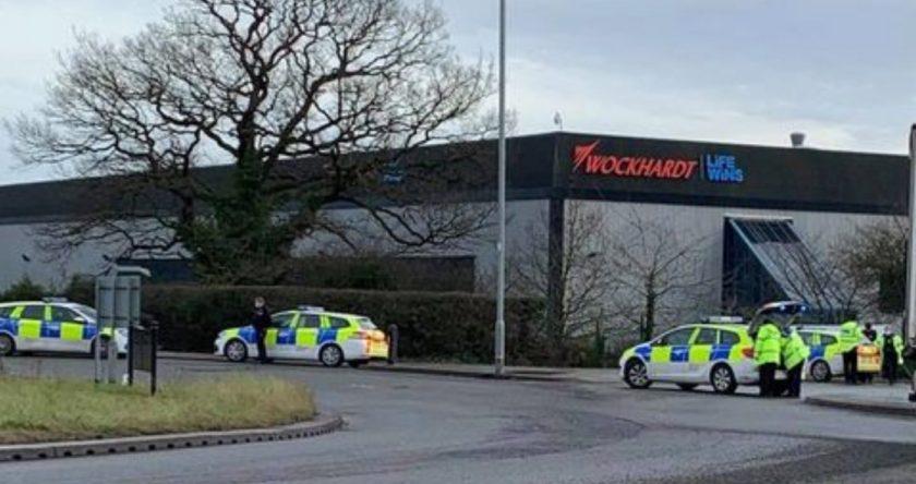 UK AstraZeneca vaccine plant partially evacuated over suspect package