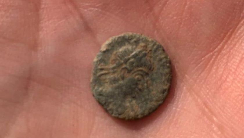 The Constantine era coin